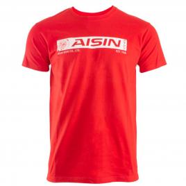T-SHIRT AISIN Vintage Rouge – Homme