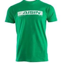 T-SHIRT AISIN Vintage Vert – Homme
