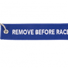 Porte-clé « REMOVE BEFORE RACE » – AISIN